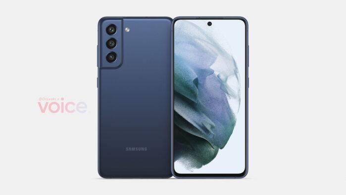 Galaxy S21 FE render e dettagli tecnici
