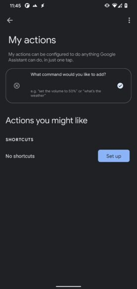 Google Assistant My Actions