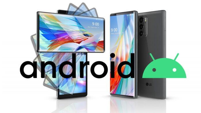 LG smartphone lista aggiornamento Android 12 e 13