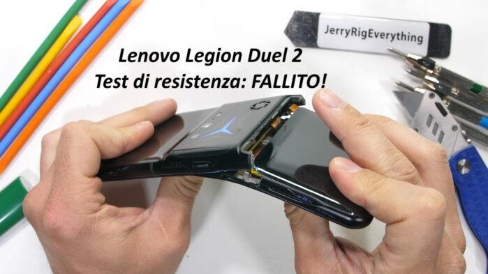 Lenovo Legion Duel 2 test resistenza è super fragile all test piegatura