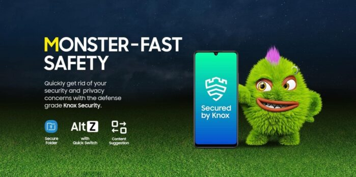M42 5G Samsung Knox
