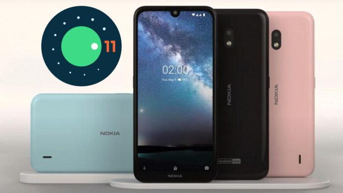 Nokia 2.2 aggiornamento Android 11