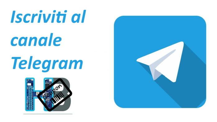 Offerte coupon Da Hwbrain Canale Telegram