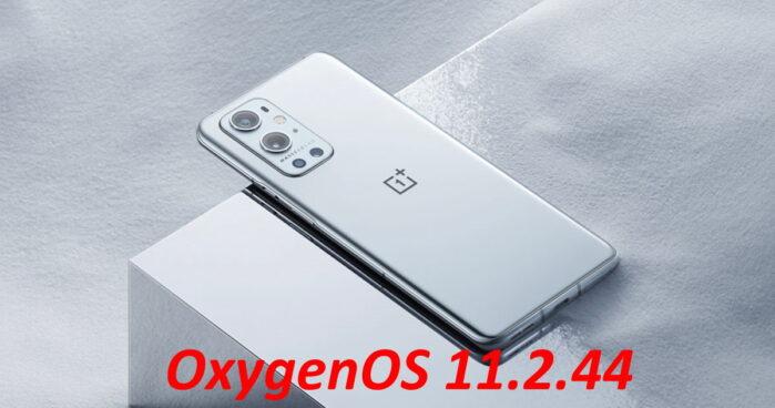 OnePlue 9 Pro aggiornamento OxygenOS 11.2.4.4
