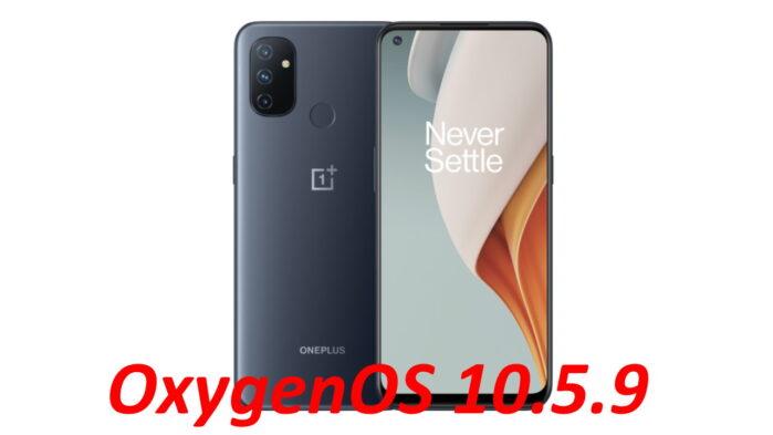 OnePlus Nord 100 aggiornamento OxygenOS 10.5.9 Europa