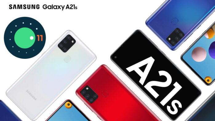 Samsung Galaxy A21S aggiornamento Android 11