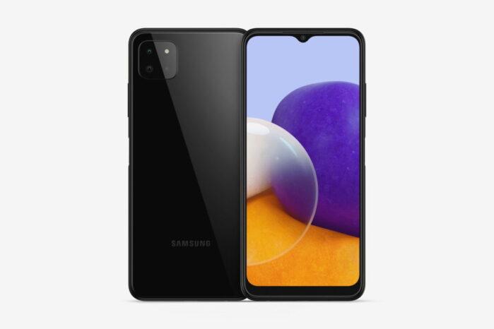 Samsung Galaxy A22 5G dettagli GeekBench