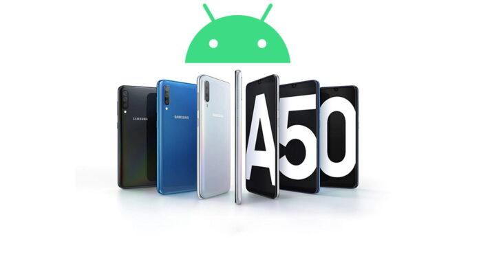 Samsung Galaxy A50 aggiornamento patch aprile 2021