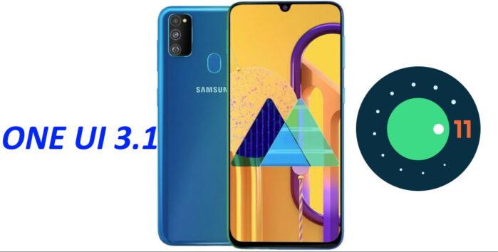 Samsung Galaxy M30S ONE UI 3.1 aggiornamento Android 11
