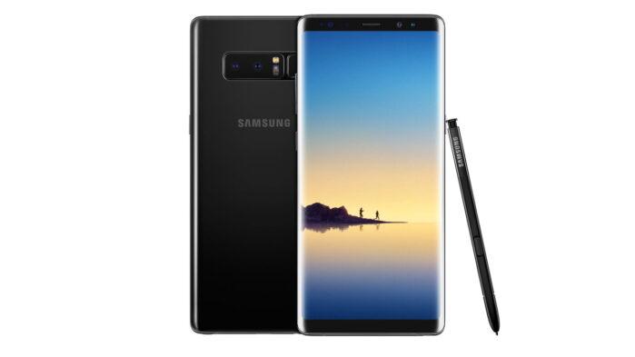 Samsung Galaxy Note 8 aggiornamento pach aprile 2021
