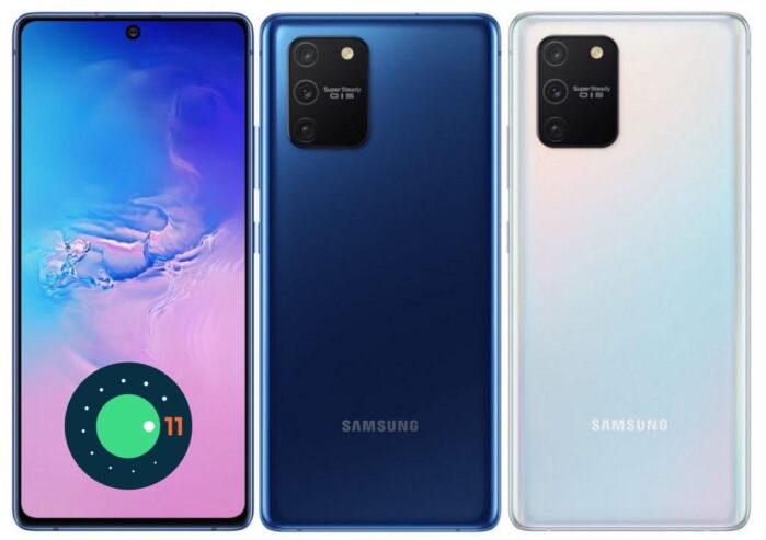 Samsung Galaxy S10 Lite aggiornamento patch aprile 2021