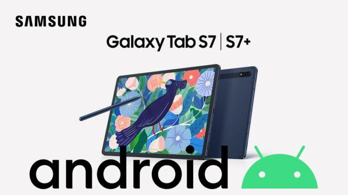 Samsung Galaxy Tab S7 e S7 Plus aggiornamento patch aprile 2021 novità