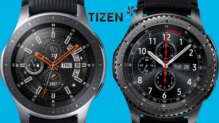 Samsung Galaxy Watch 3 aggiornamento software Tizen aprile 2021