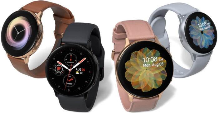 Samsung Galaxy Watch Active e Active 2 aggiornamento fine aprile 2021