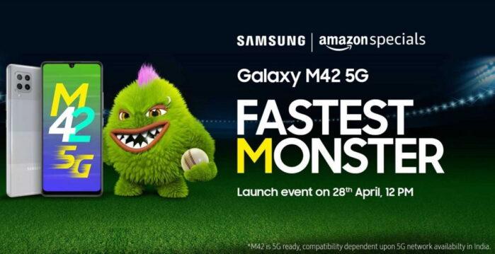 Samsung M42 5G ufficiale data