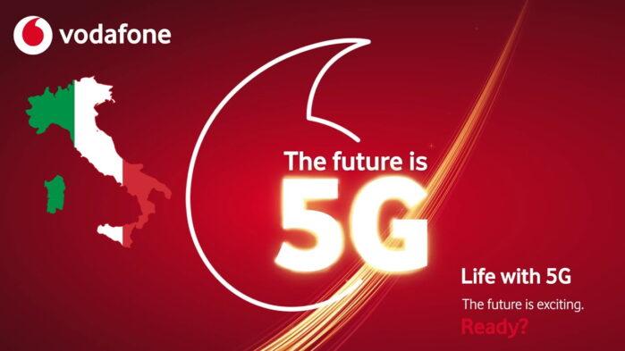 Vodafone copertura 5G città Italia aprile 2021