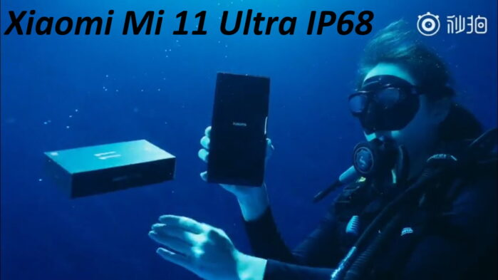 Xiaomi Mi 11 Ultra video unboxing sott'acqua IP68