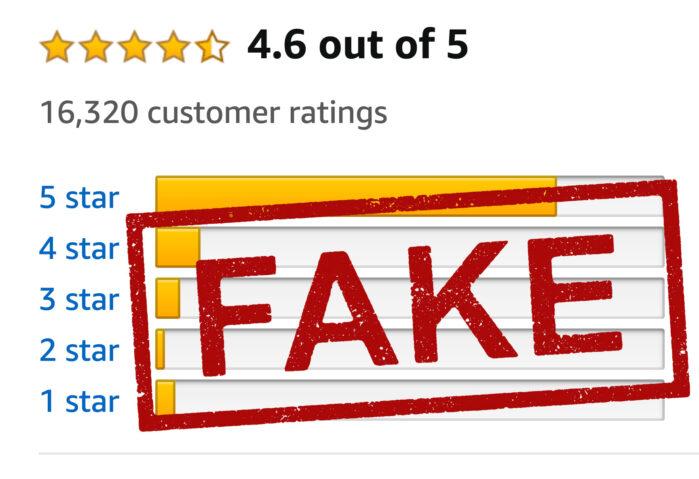 Amazon Fake recensioni
