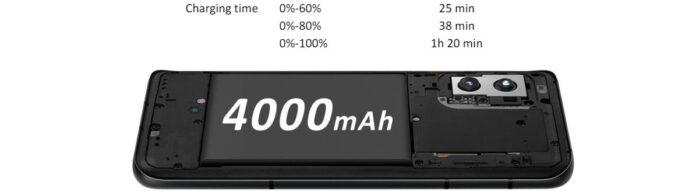 Asus Zenfone 8 batteria