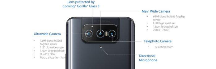 Asus Zenfone 8 flip camera
