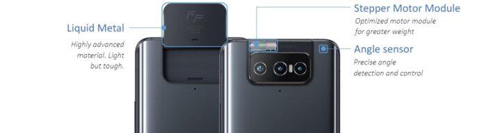 Asus Zenfone 8 flip camera movimento