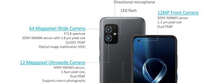 Asus Zenfone 8 fotocamere