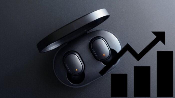 Auricolari True Wireless Stereo quote mercato Xiaomi Samsung Apple nel 2021