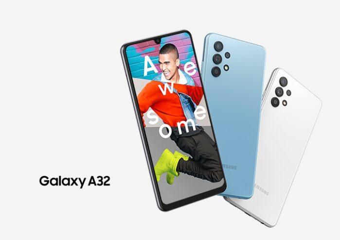 Galaxy A32 4G design