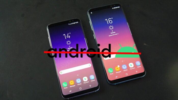 Galaxy S8 e S8 Plus fine supporto aggiornamenti Android