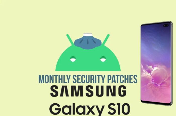 Gamma Galaxy S10 patch sicurezza maggio 2021