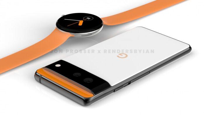 Google Pixel 6 con Pixel Watch