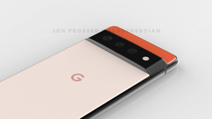 Google Pixel 6 pro design 2