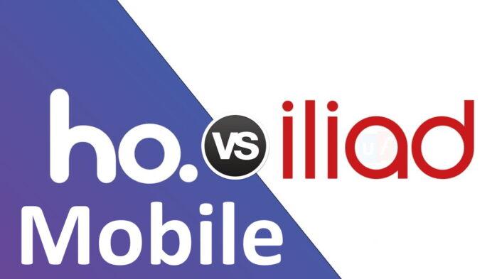 Ho. Mobile vs Iliad portabilità offerta