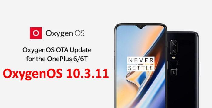 OnePlus 6 e 6T aggiornamento OxygenOS 10.3,11 novità