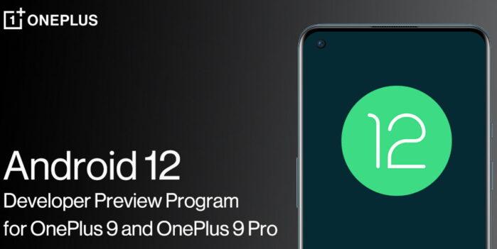 OnePlus 9 e 9 Pro Android 12 beta
