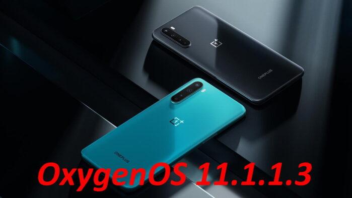 OnePlus Nord aggiornamento OxygenOS 11.1.1.3 le novità