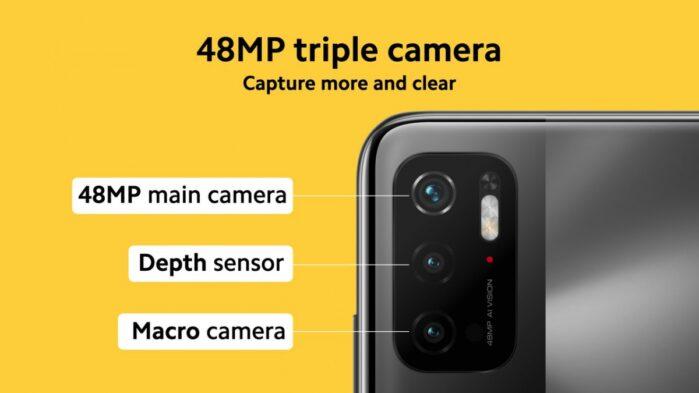 Poco M3 Pro 5G fotocamere caratteristiche