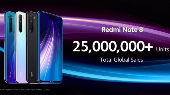 Redmi note 8 versione 2021 confermato