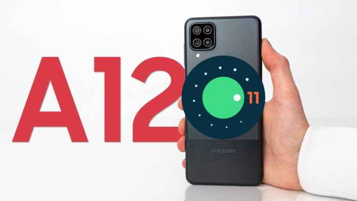 Samsung Galaxy A12 android 11 aggiornamento ONE UI 3.1