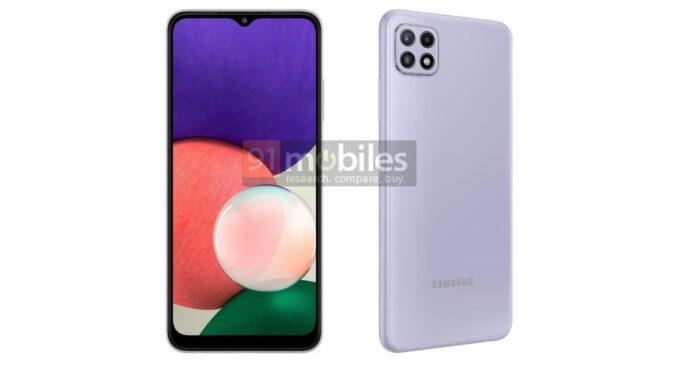 Samsung Galaxy A22 5G e 4G renders svelati