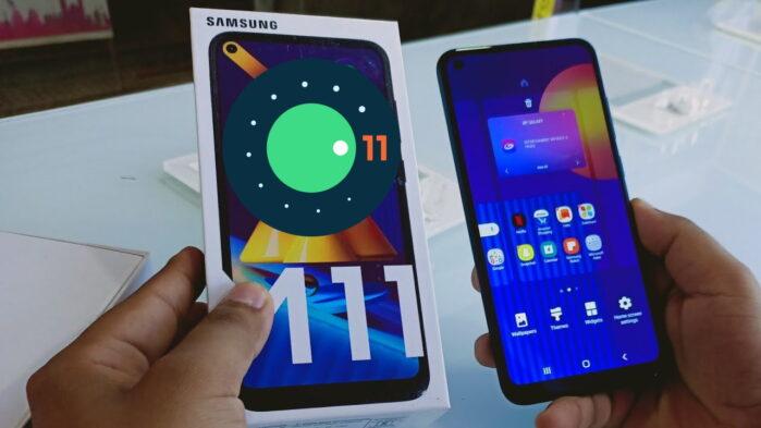 Samsung Galaxy M11 Android 11 con ONE UI 3.1 aggiornamento
