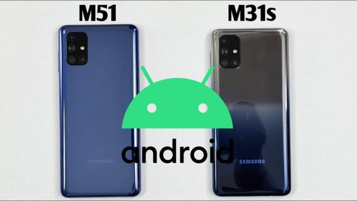 Samsung Galaxy M51 e Galaxy M31s aggiornamento patch maggio 2021