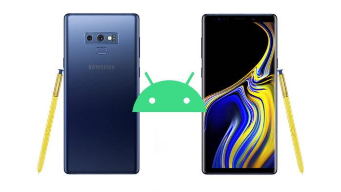 Samsung Galaxy Note 9 aggiornamento patch maggio 2021