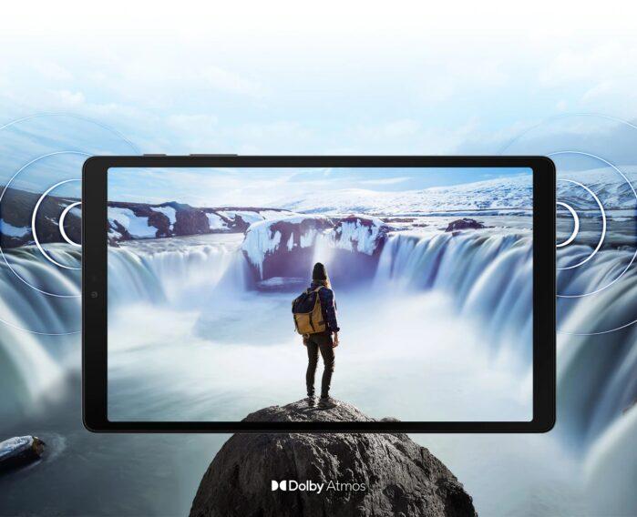 Samsung Galaxy Tab A7 Lite audio