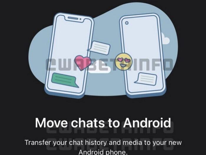 WhatsApp cambio telefono e numero salvare chat android iOS