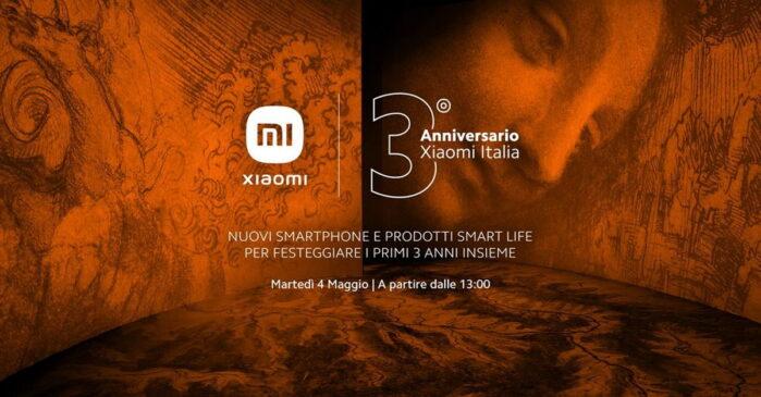 Xiaomi Evento Anniversario Italia Redmi Note 10S Note 10 5G e Mi 11 Ultra in arrivo