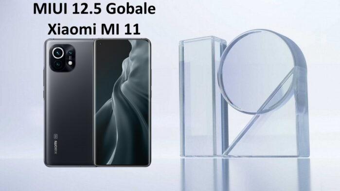 Xiaomi MI 11 MIUI 12.5 aggiornamento globale in Europa