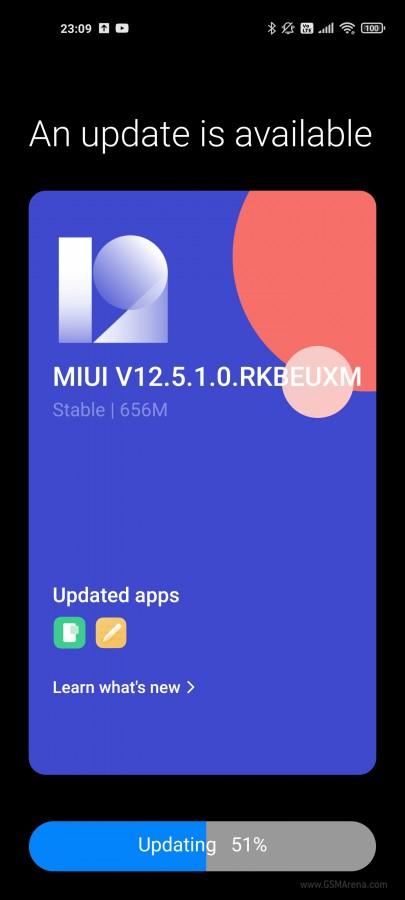 Xiaomi MI 11 MIUI 12.5 globale 1