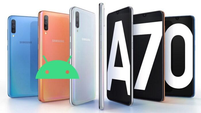Galaxy A70 e Galaxy A20e aggiornamenti semestrali