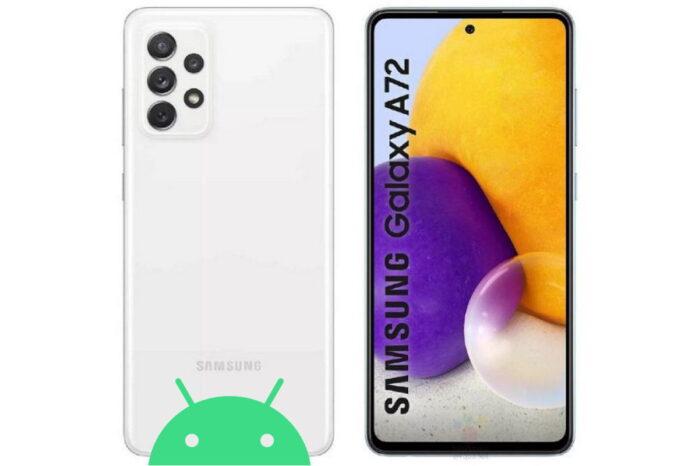 Galaxy A72 aggiornamento patch giugno 2021